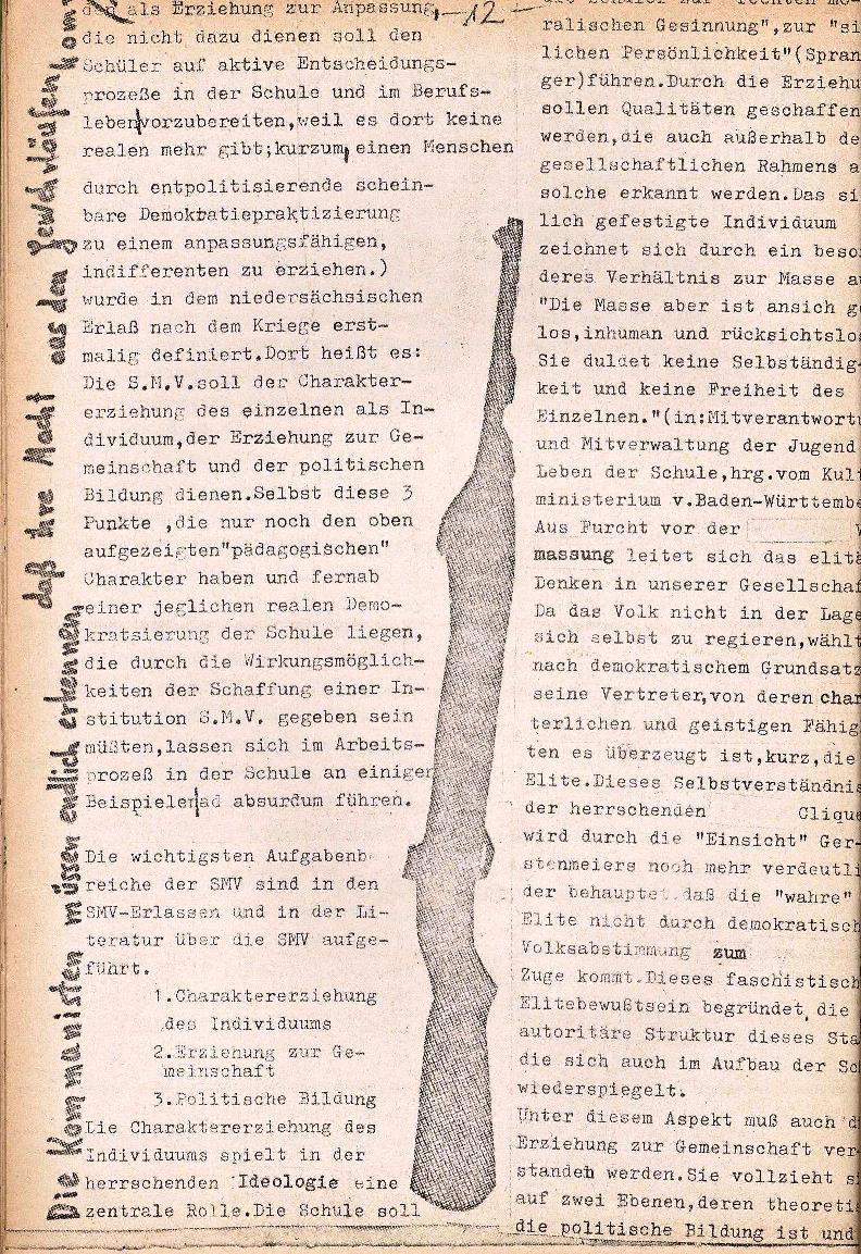 Rote Schule _ ZO der SSG, 1. Jg., 1969, Nr. 1, Seite 12