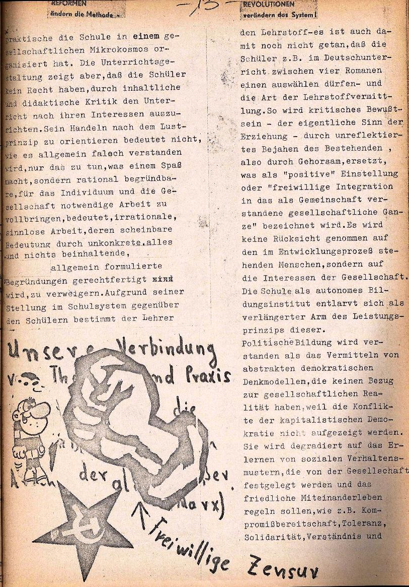 Rote Schule _ ZO der SSG, 1. Jg., 1969, Nr. 1, Seite 13