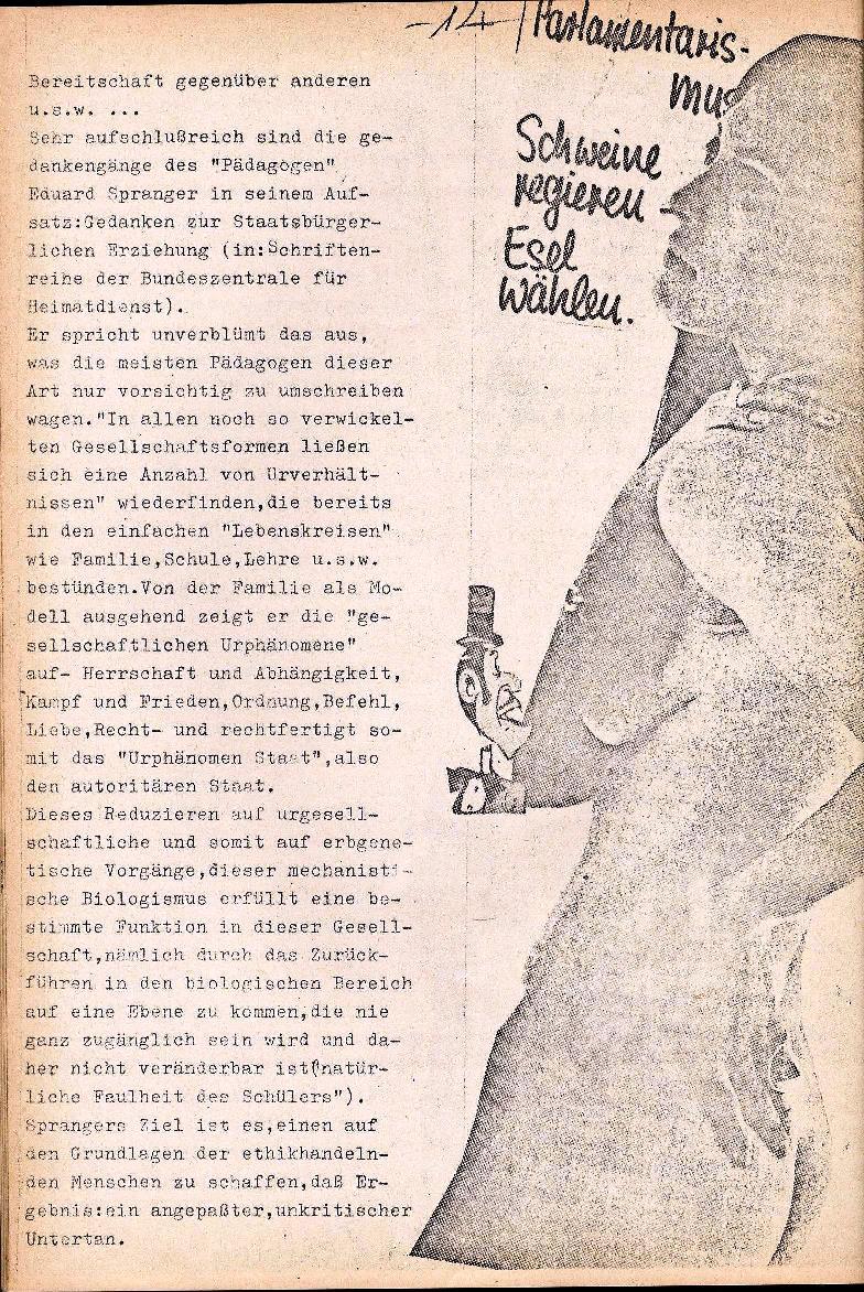 Rote Schule _ ZO der SSG, 1. Jg., 1969, Nr. 1, Seite 14