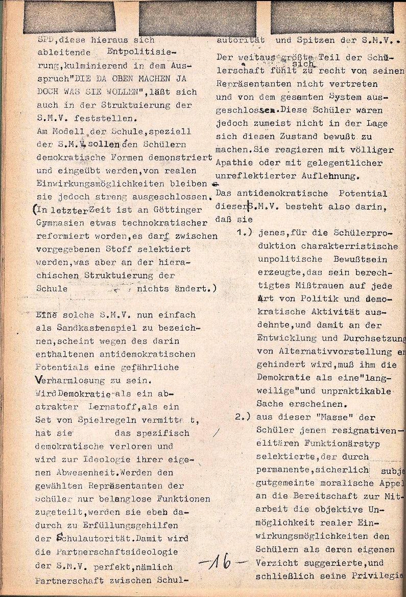 Rote Schule _ ZO der SSG, 1. Jg., 1969, Nr. 1, Seite 16