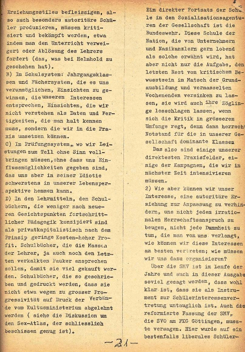 Rote Schule _ ZO der SSG, 1. Jg., 1969, Nr. 1, Seite 21