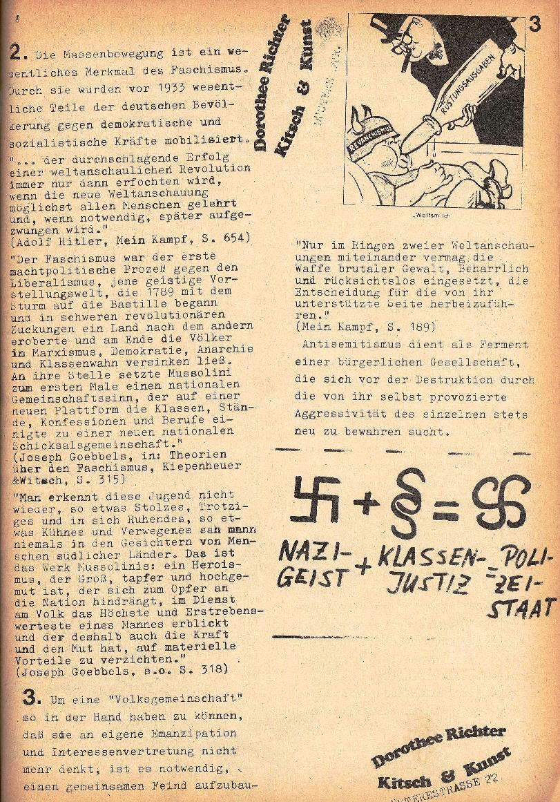 Rote Schule, Extra, Neofaschismus in der BRD (1969), Seite 3