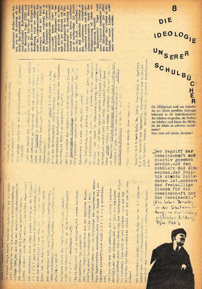 Rote Schule, Extra, Neofaschismus in der BRD (1969), Seite 8