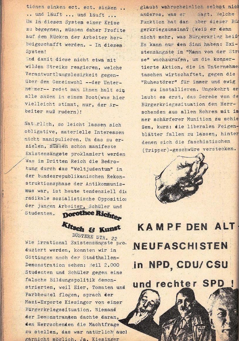 Rote Schule, Extra, Neofaschismus in der BRD (1969), Seite 6