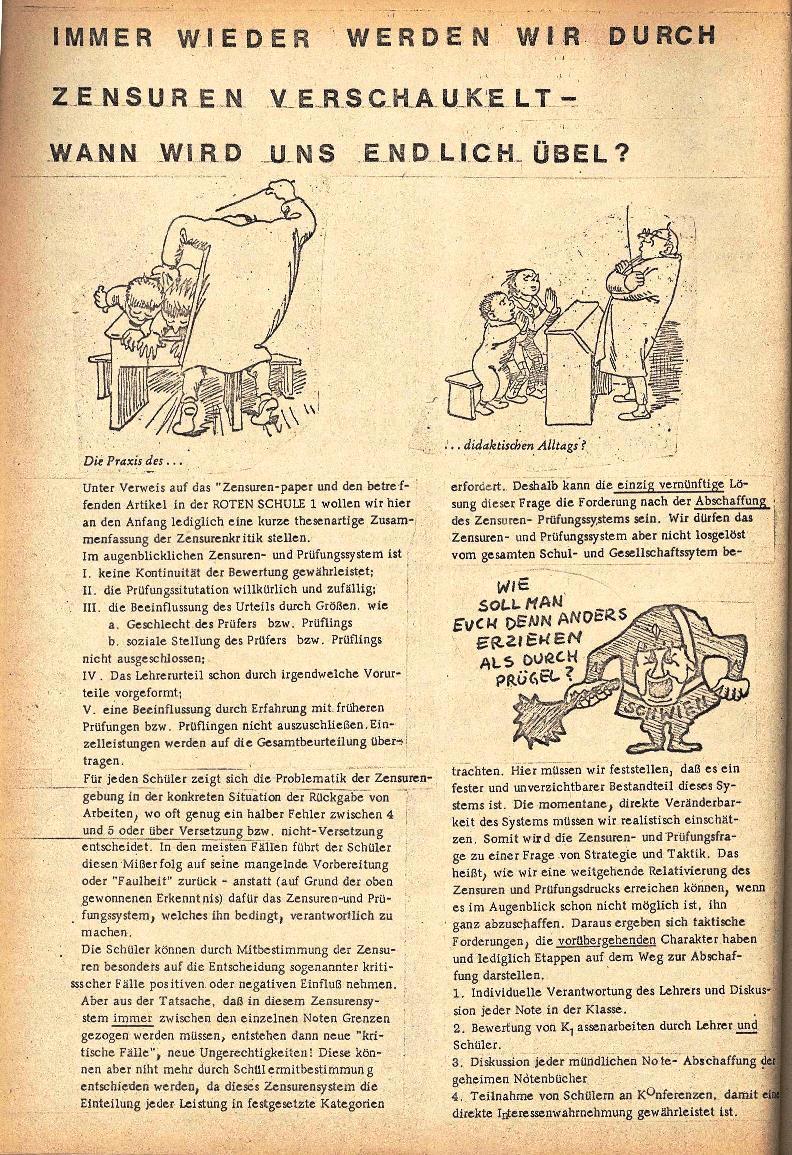 Rote Schule _ ZO der SSG, 1. Jg., 1969, Nr. 2, Seite 2
