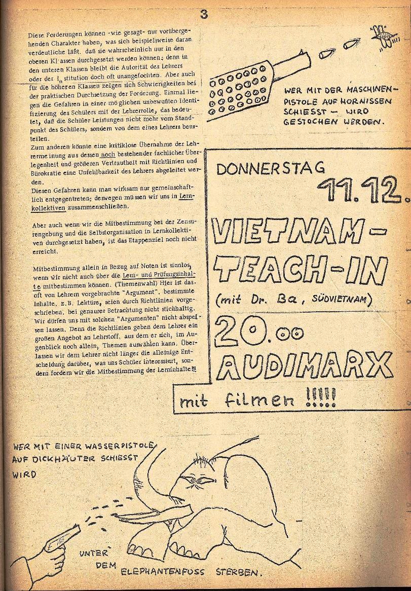 Rote Schule _ ZO der SSG, 1. Jg., 1969, Nr. 2, Seite 3