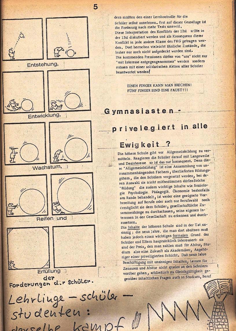 Rote Schule _ ZO der SSG, 1. Jg., 1969, Nr. 2, Seite 5