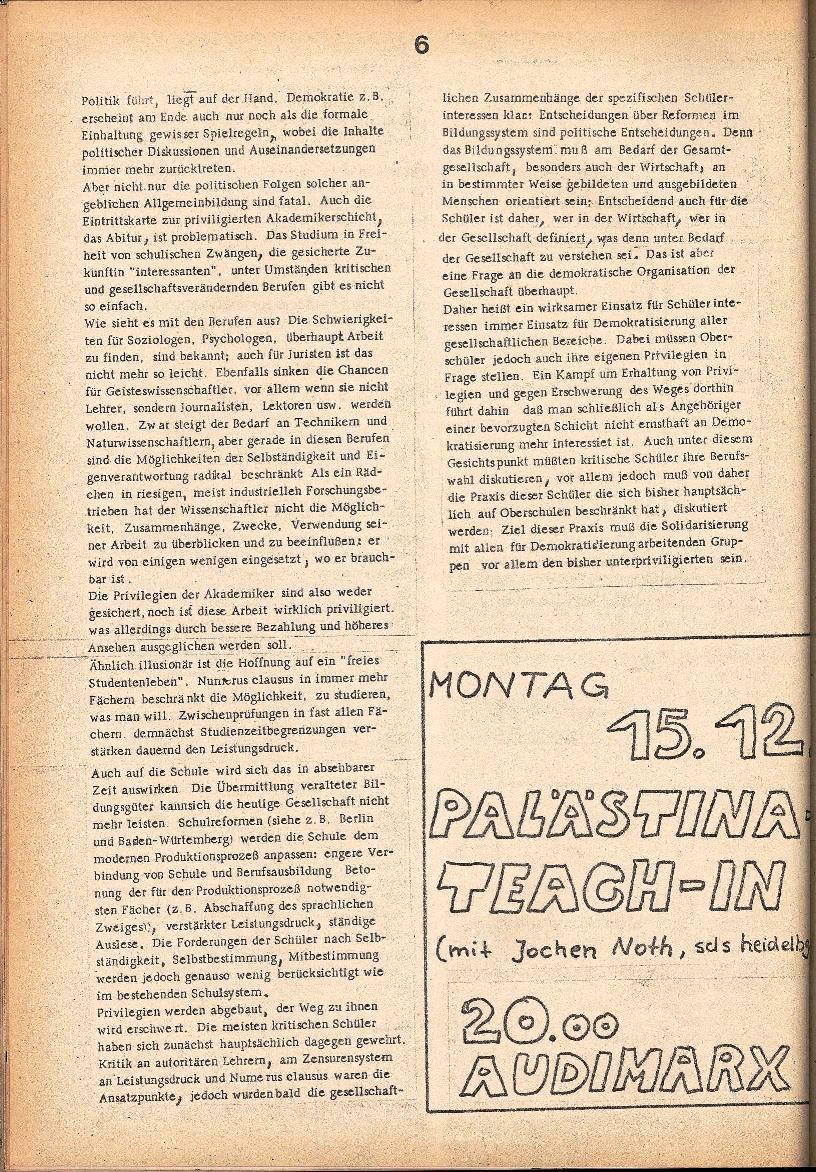 Rote Schule _ ZO der SSG, 1. Jg., 1969, Nr. 2, Seite 6