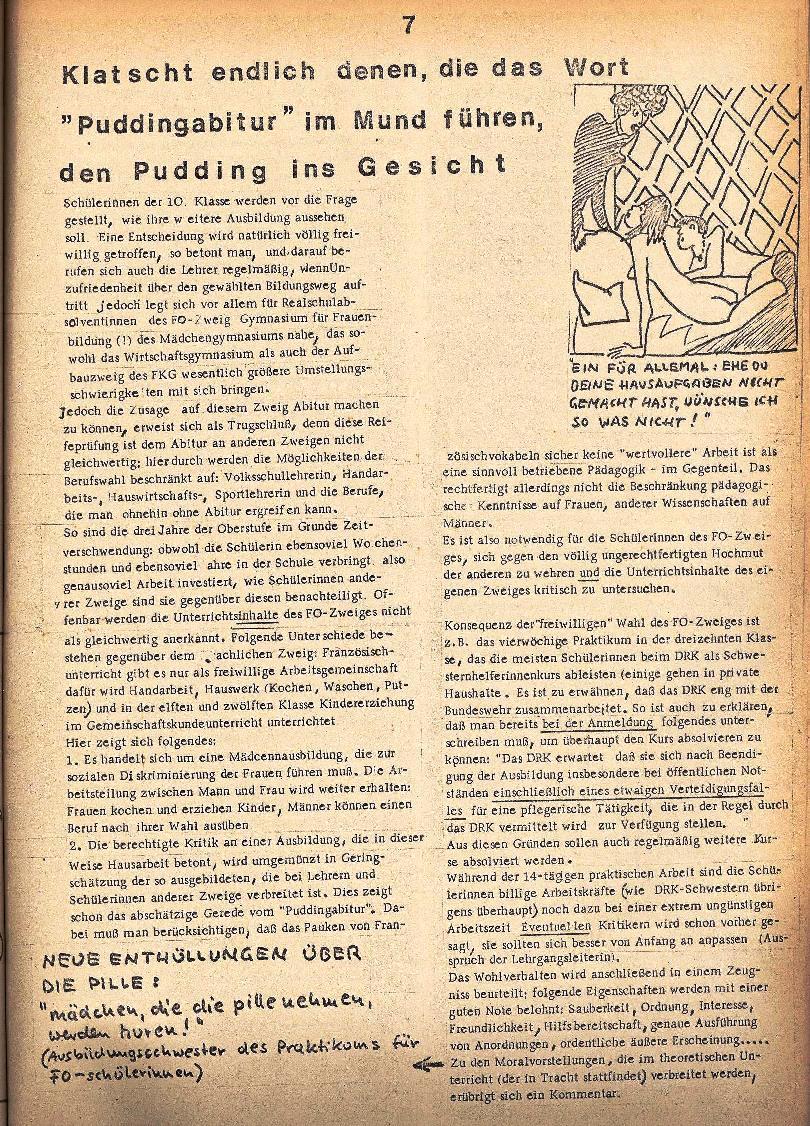 Rote Schule _ ZO der SSG, 1. Jg., 1969, Nr. 2, Seite 7