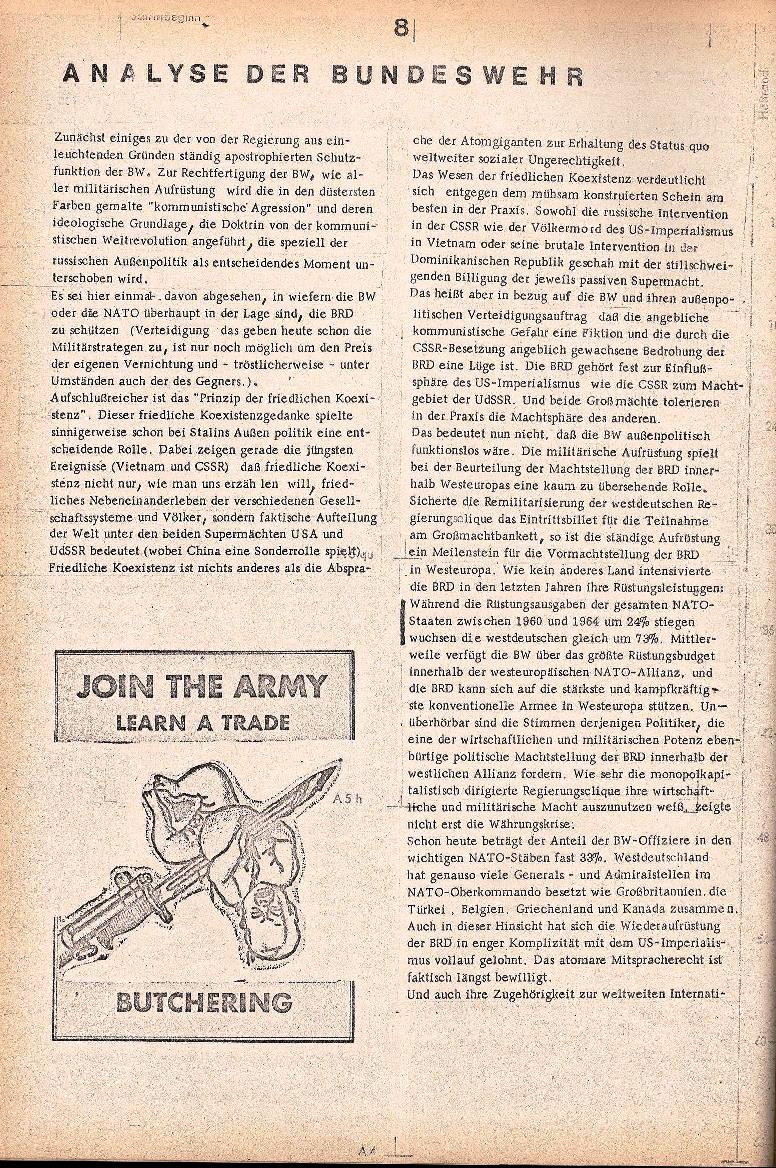 Rote Schule _ ZO der SSG, 1. Jg., 1969, Nr. 2, Seite 8