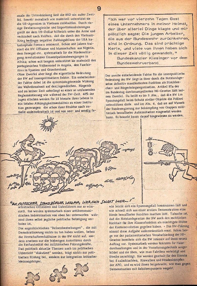 Rote Schule _ ZO der SSG, 1. Jg., 1969, Nr. 2, Seite 9