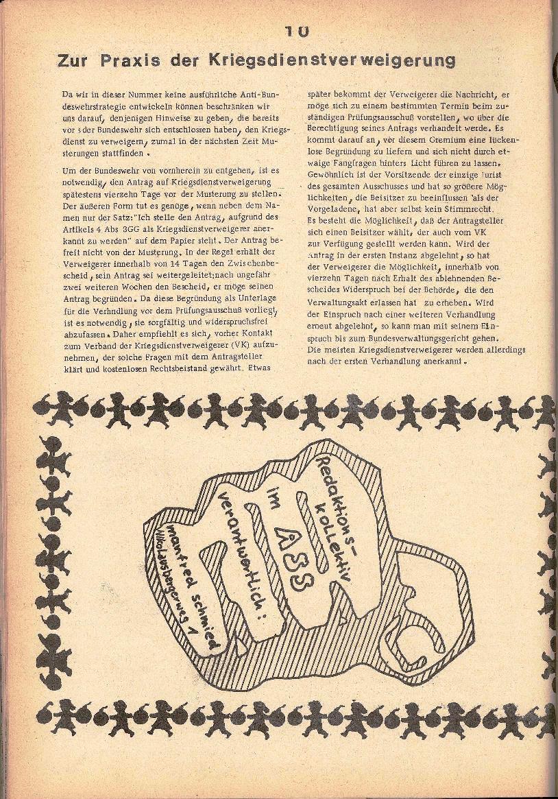 Rote Schule _ ZO der SSG, 1. Jg., 1969, Nr. 2, Seite 10