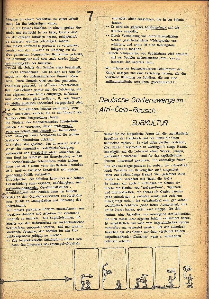 Rote Schule _ ZO der SSG, 2. Jg., 1970, Nr. 3, Seite 7