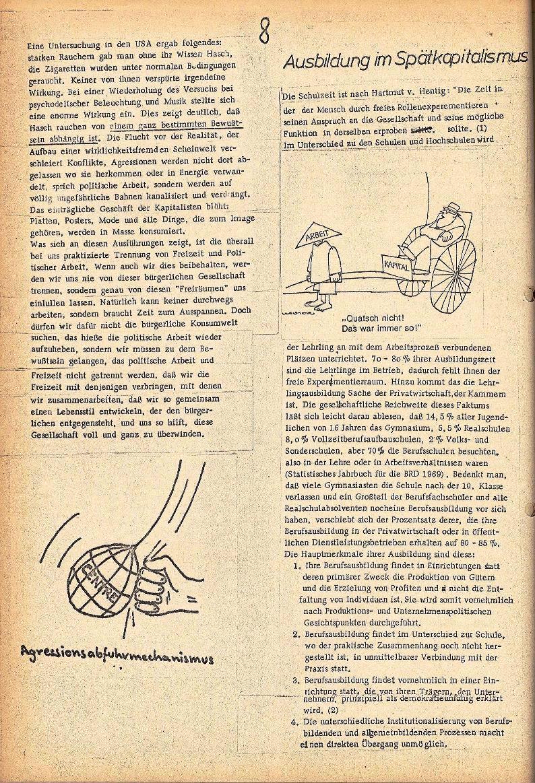 Rote Schule _ ZO der SSG, 2. Jg., 1970, Nr. 3, Seite 8