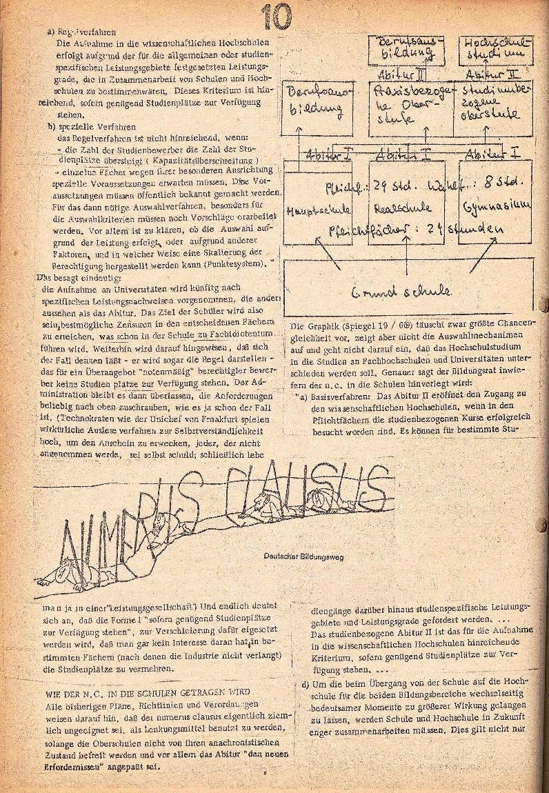 Rote Schule _ ZO der SSG, 2. Jg., 1970, Nr. 3, Seite 10