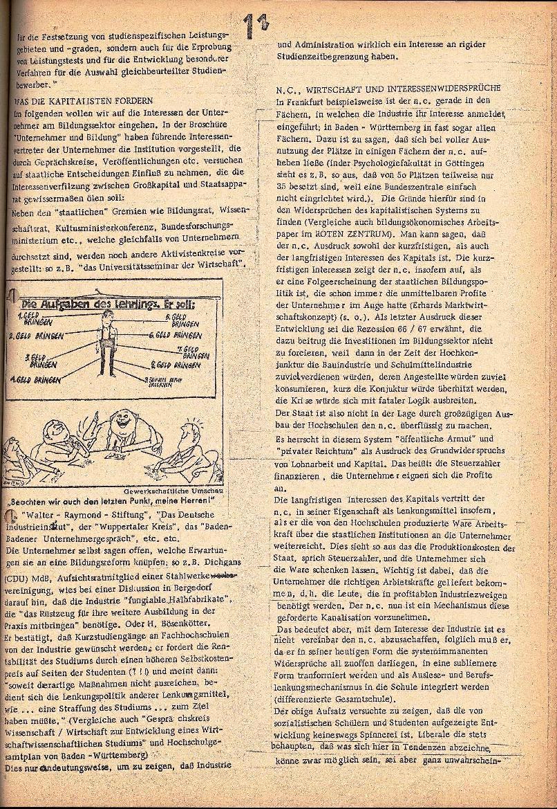 Rote Schule _ ZO der SSG, 2. Jg., 1970, Nr. 3, Seite 11