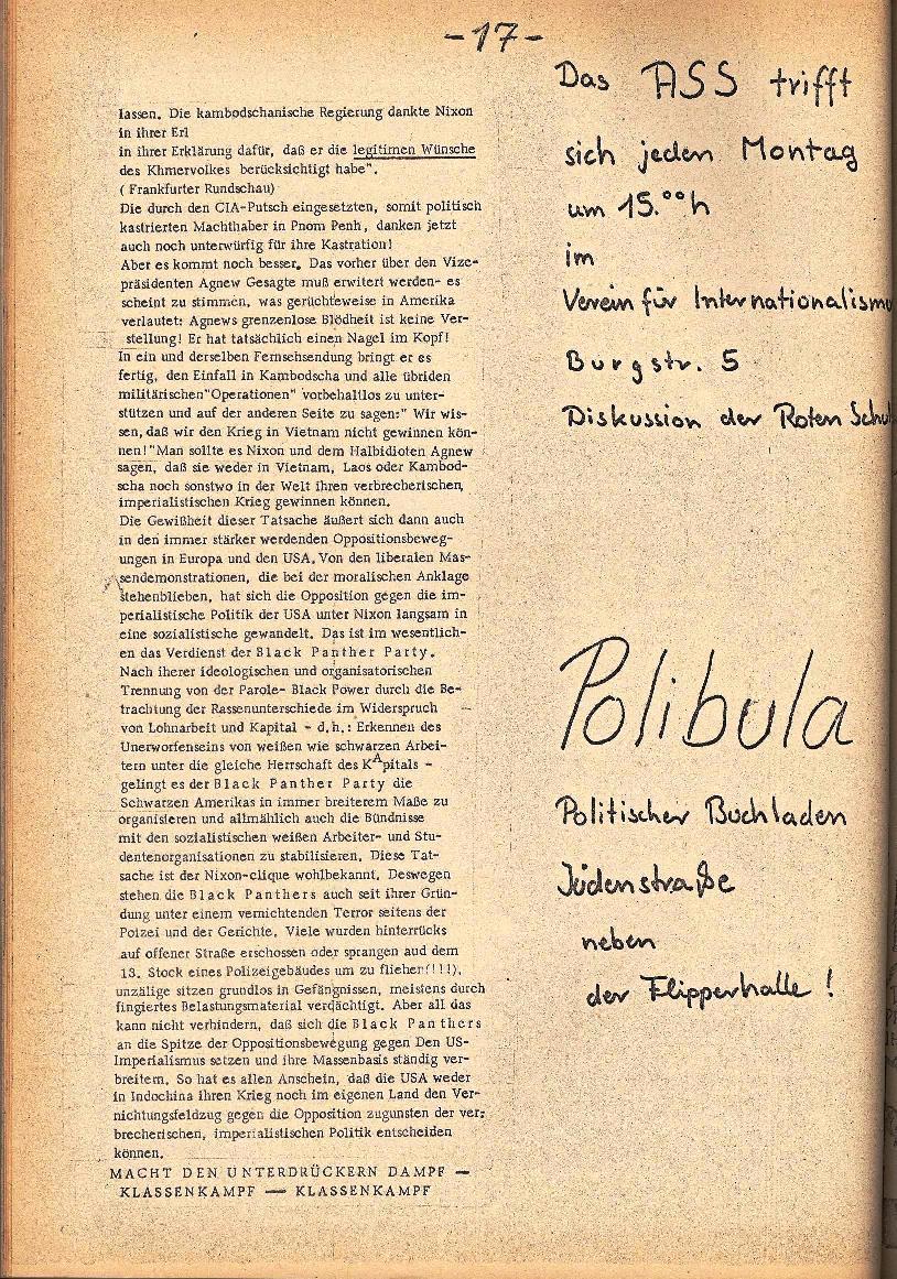 Rote Schule _ ZO der SSG, 2. Jg., 1970, Nr. 4, Seite 4