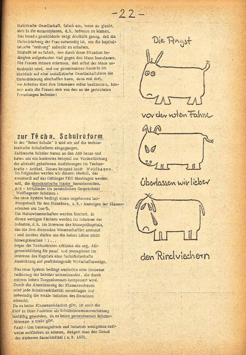 Rote Schule _ ZO der SSG, 2. Jg., 1970, Nr. 4, Seite 9