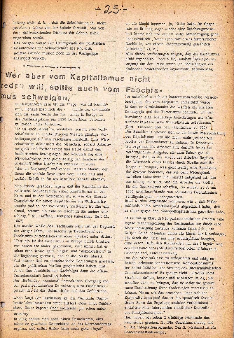 Rote Schule _ ZO der SSG, 2. Jg., 1970, Nr. 5, Seite 3
