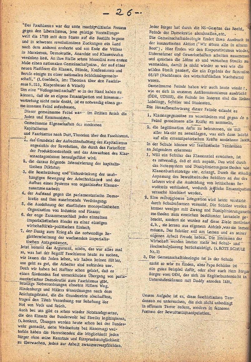 Rote Schule _ ZO der SSG, 2. Jg., 1970, Nr. 5, Seite 4