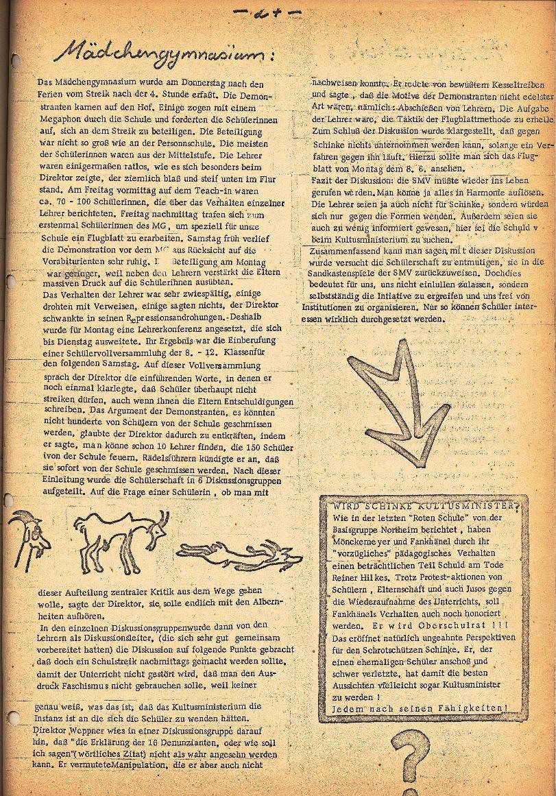 Rote Schule _ ZO der SSG, 2. Jg., 1970, Nr. 5, Seite 5