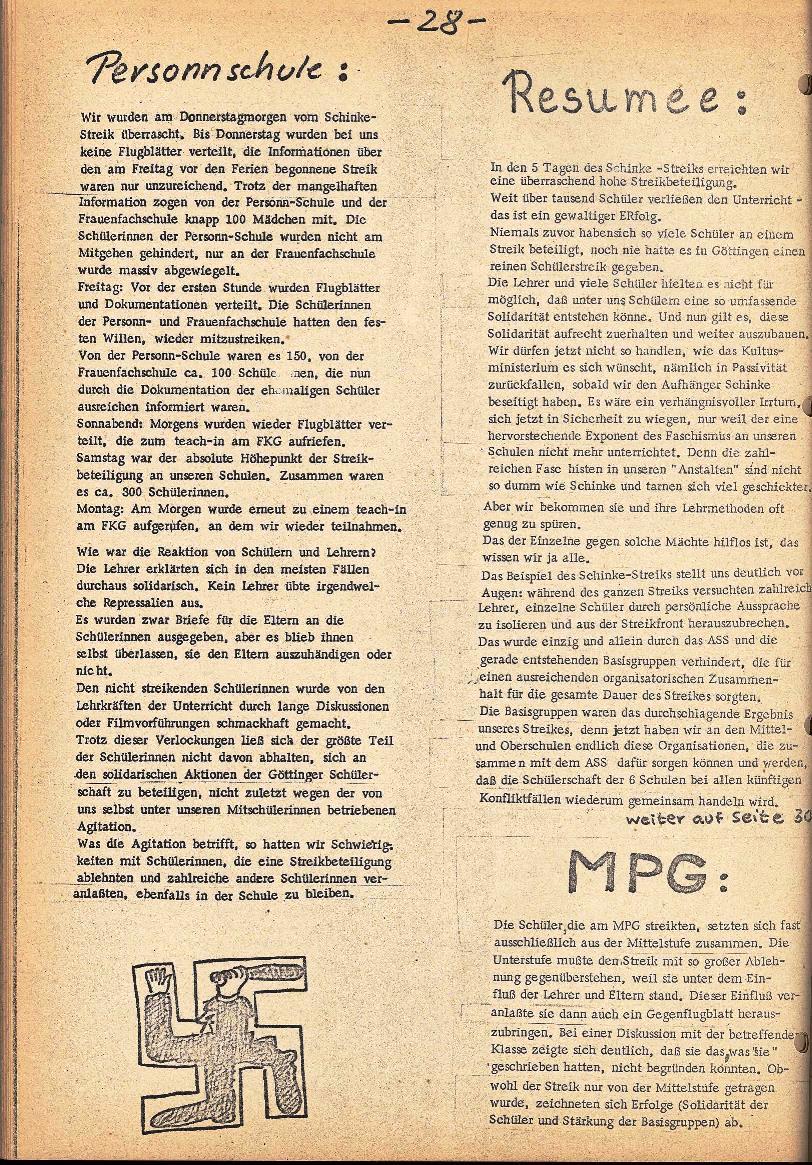 Rote Schule _ ZO der SSG, 2. Jg., 1970, Nr. 5, Seite 6
