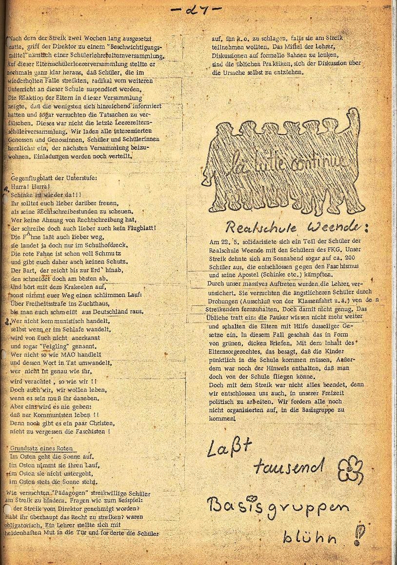 Rote Schule _ ZO der SSG, 2. Jg., 1970, Nr. 5, Seite 7