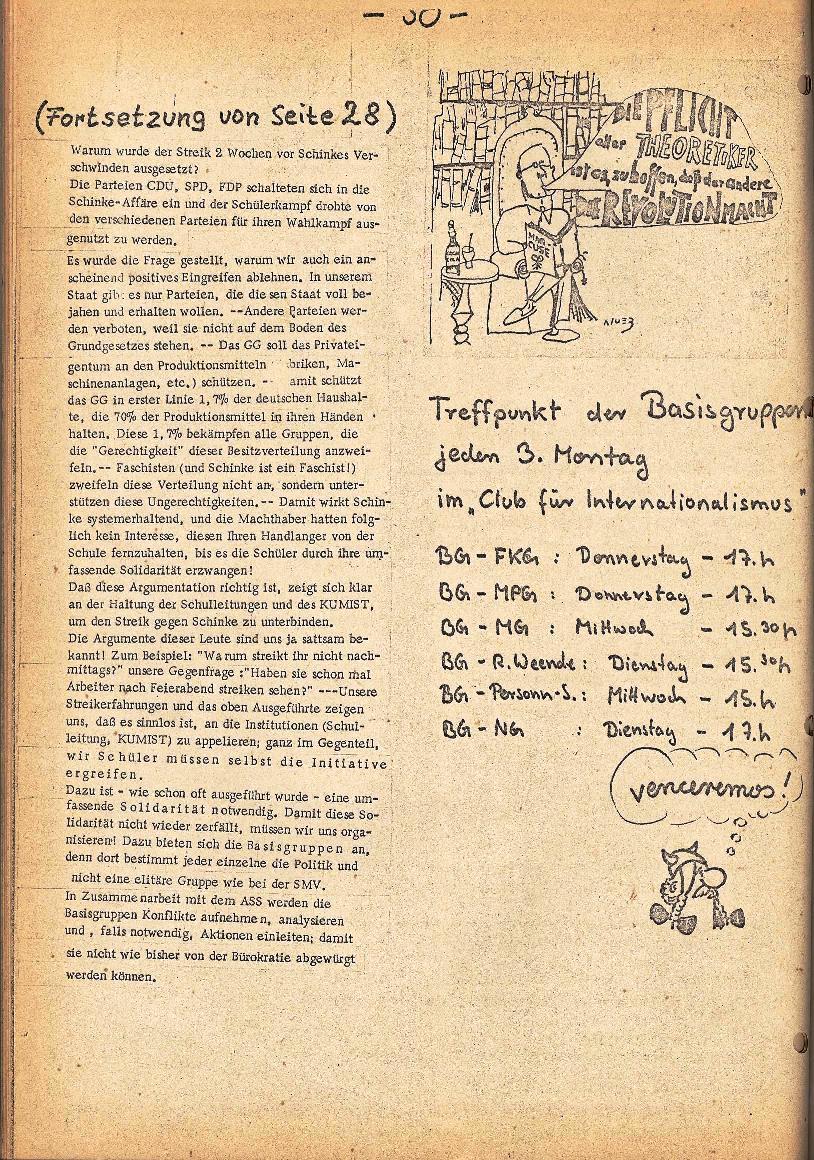 Rote Schule _ ZO der SSG, 2. Jg., 1970, Nr. 5, Seite 8