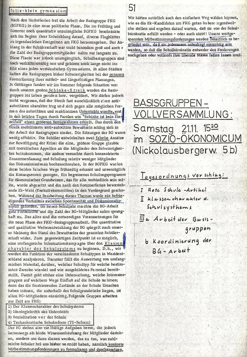 Rote Schule _ ZO der SSG, 2. Jg., 1970, Nr. 7, Seite 11
