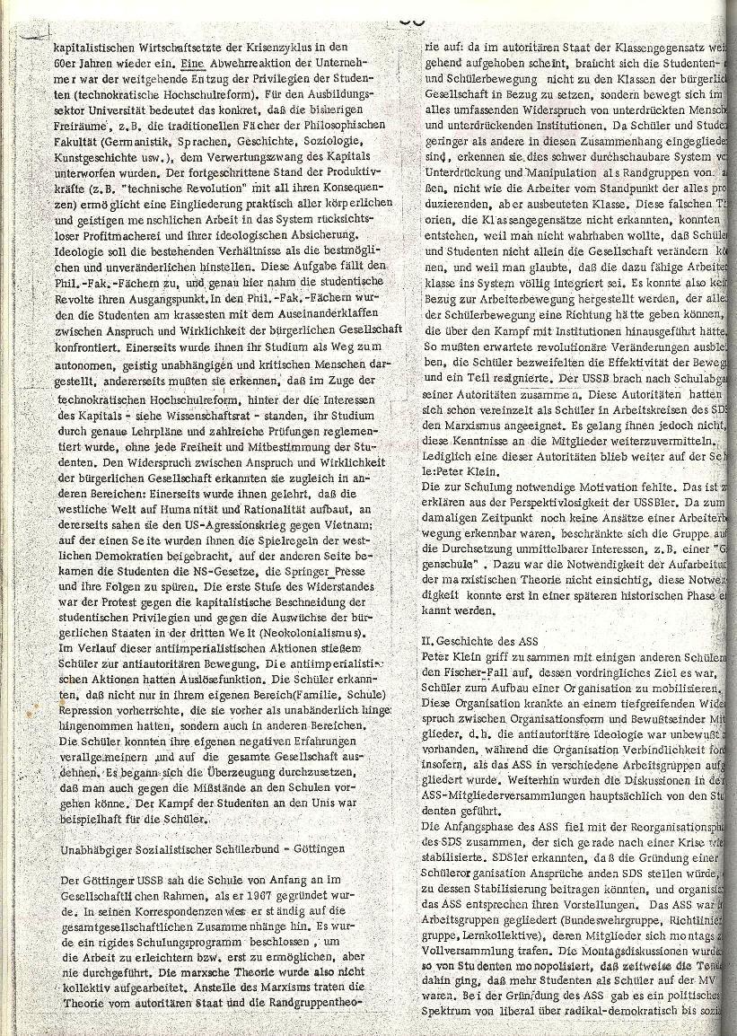 Rote Schule _ ZO der SSG, 2. Jg., 1970, Nr. 8, Seite 2