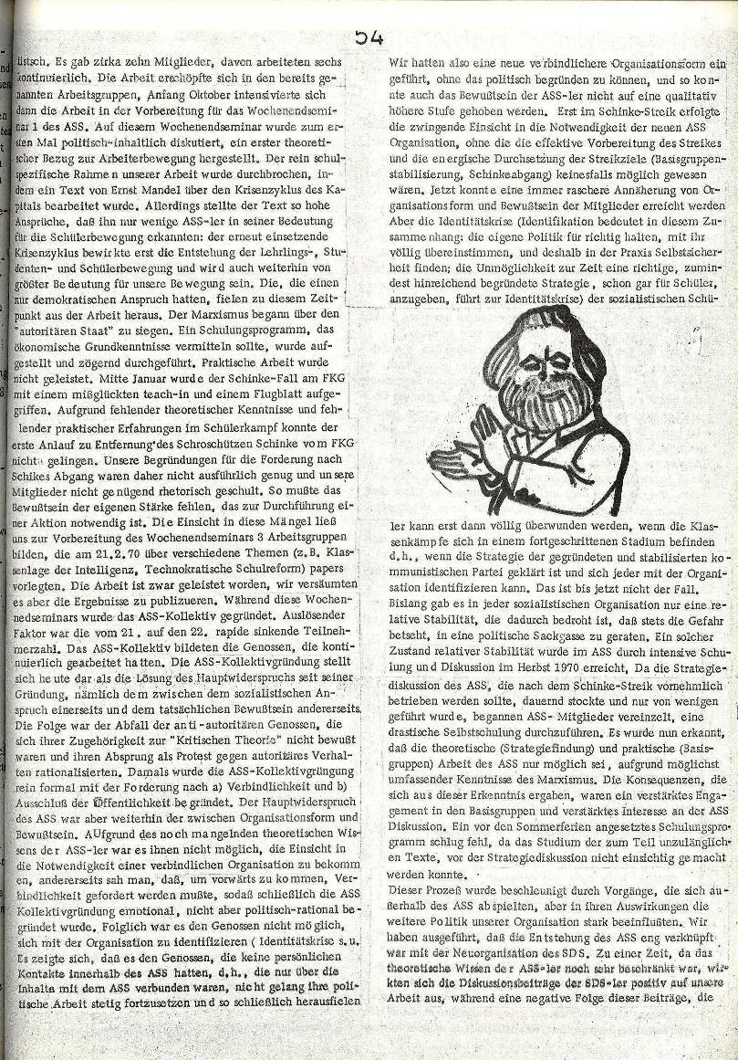 Rote Schule _ ZO der SSG, 2. Jg., 1970, Nr. 8, Seite 3