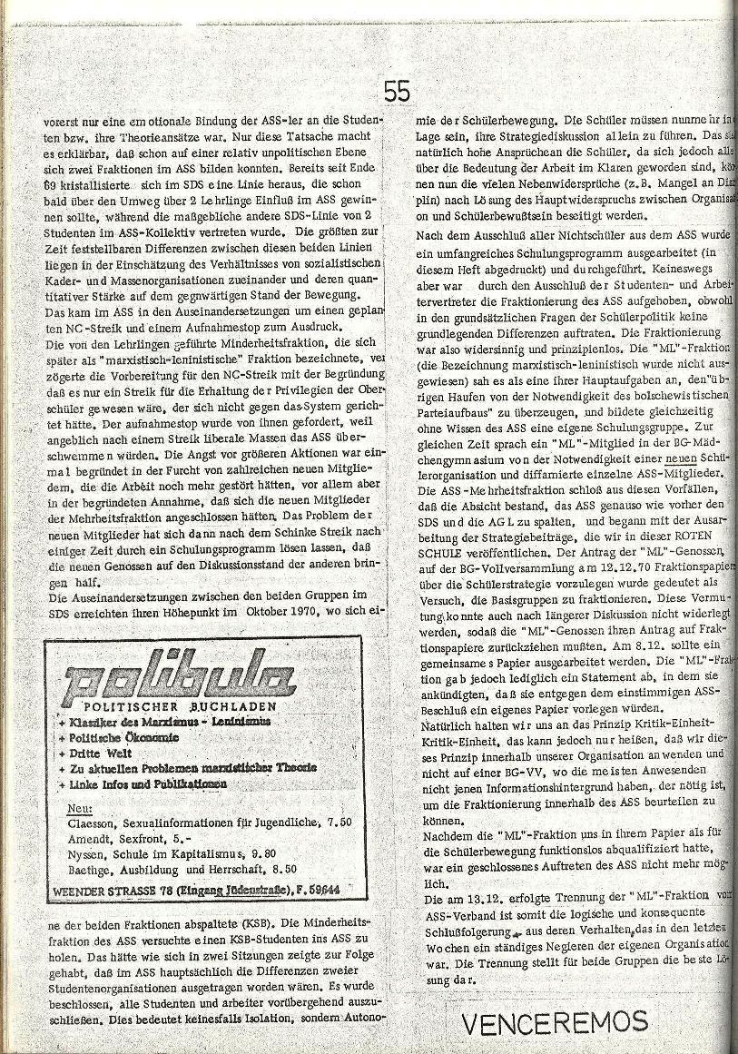 Rote Schule _ ZO der SSG, 2. Jg., 1970, Nr. 8, Seite 4