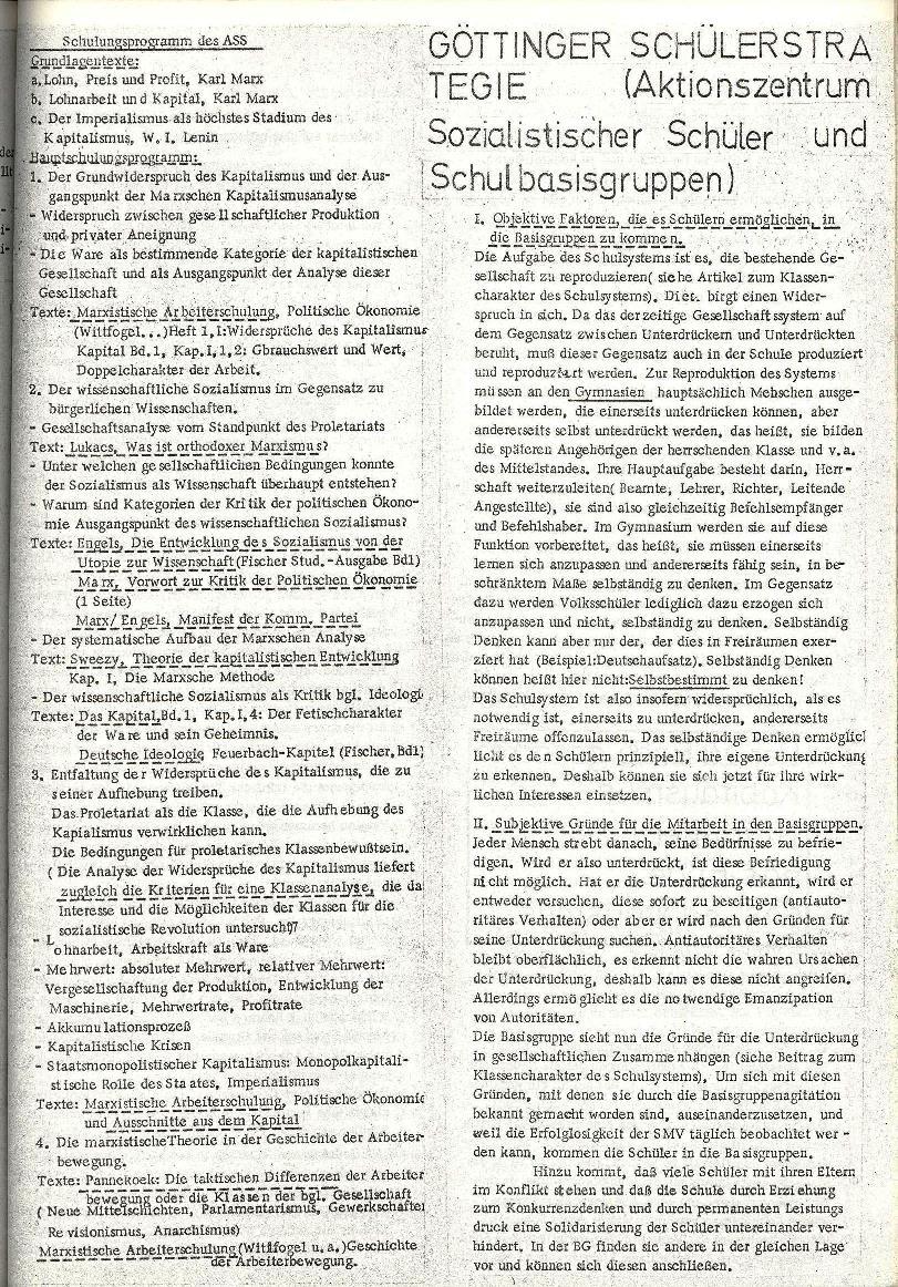 Rote Schule _ ZO der SSG, 2. Jg., 1970, Nr. 8, Seite 5