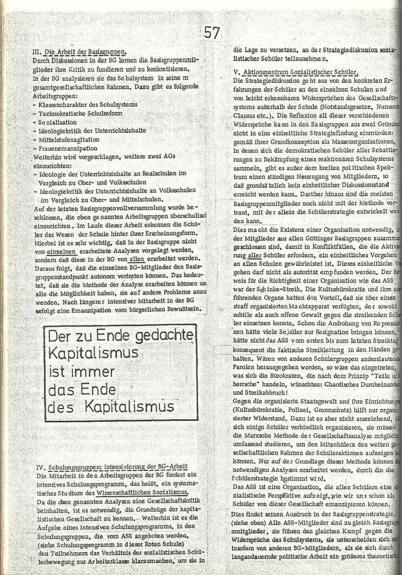 Rote Schule _ ZO der SSG, 2. Jg., 1970, Nr. 8, Seite 6