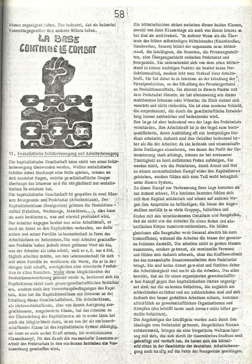 Rote Schule _ ZO der SSG, 2. Jg., 1970, Nr. 8, Seite 7