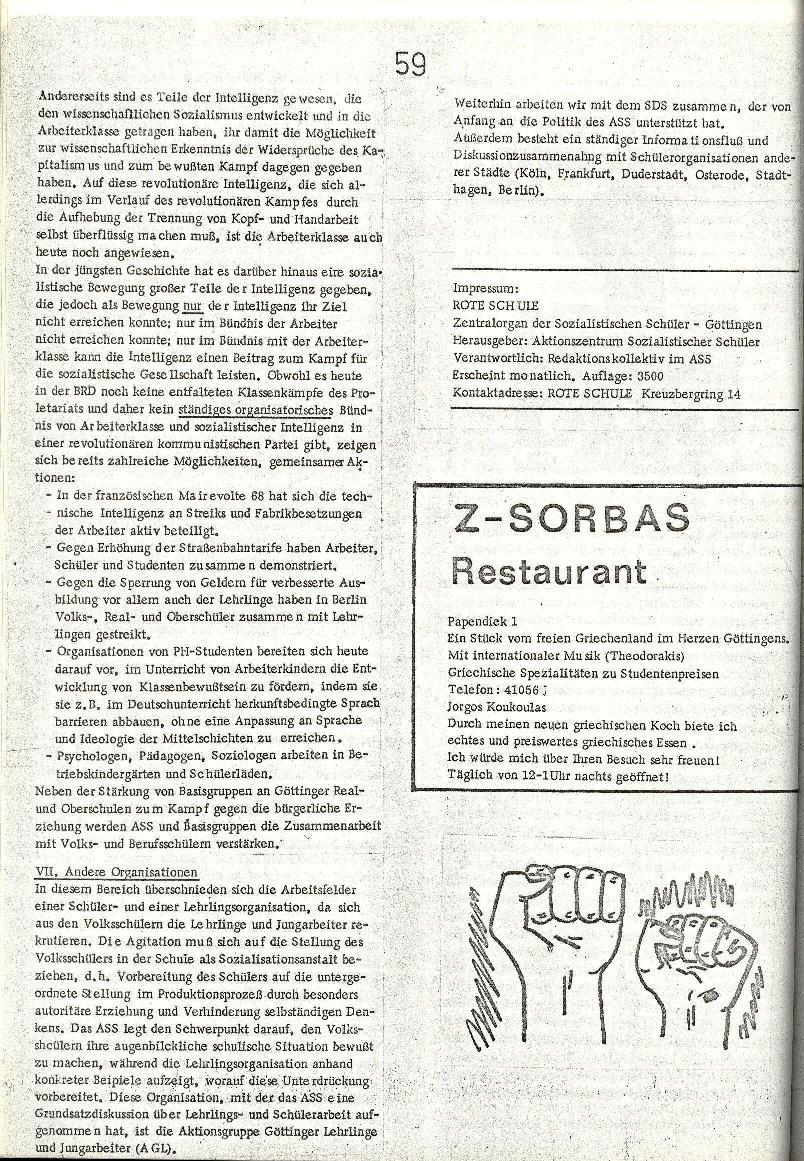 Rote Schule _ ZO der SSG, 2. Jg., 1970, Nr. 8, Seite 8