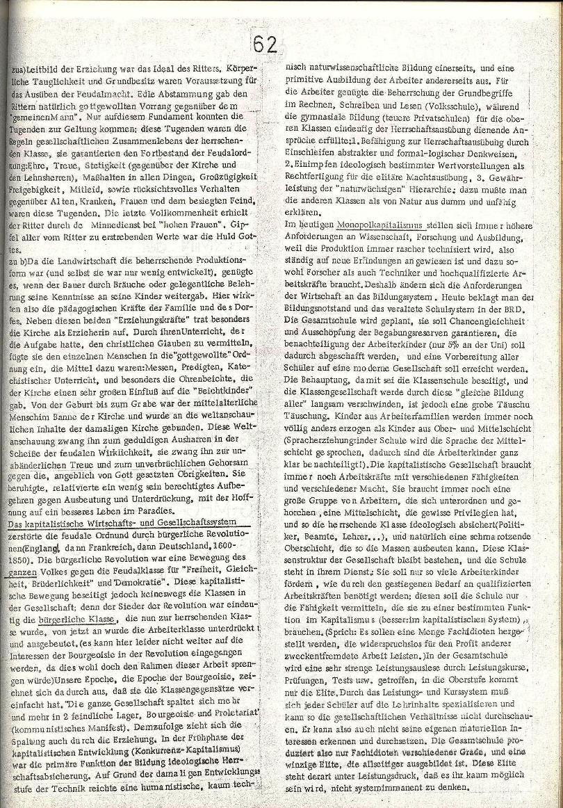 Rote Schule _ ZO der SSG, 2. Jg., 1970, Nr. 8, Seite 11