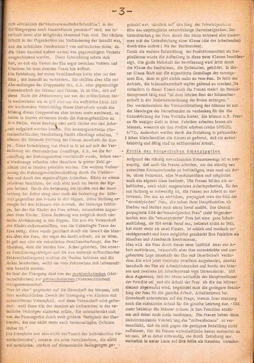 Rote Schule _ ZO der SSG, 3. Jg., 1971, Nr. 1, Seite 3