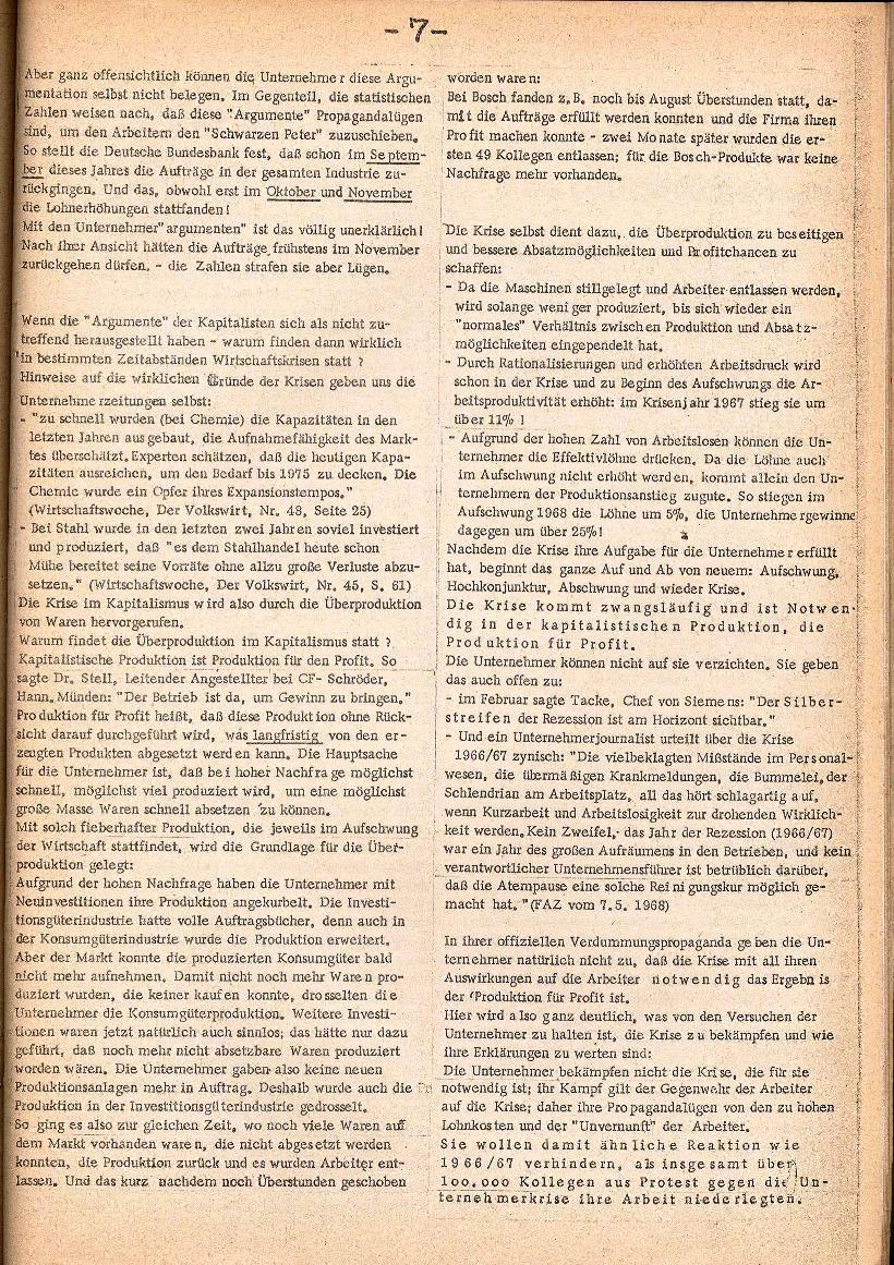Rote Schule _ ZO der SSG, 3. Jg., 1971, Nr. 1, Seite 7
