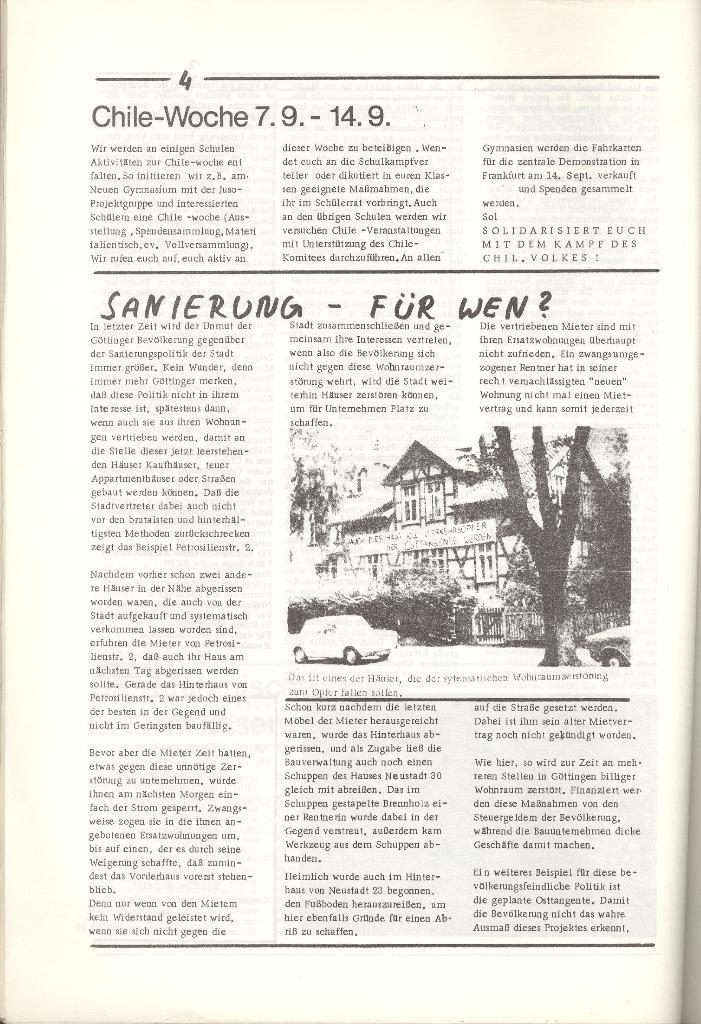 Organ des KOB Göttingen, Nr. 5, 1974, Seite 4