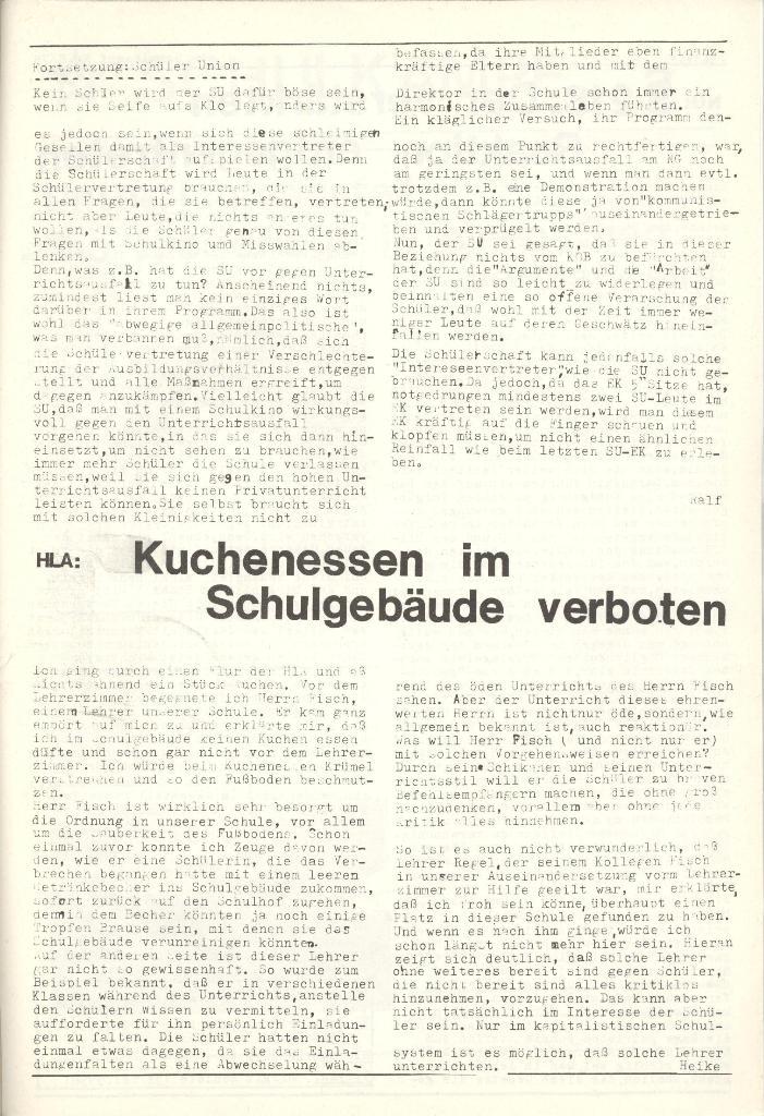 Organ des KOB Göttingen, Nr. 8, 1975, Seite 3