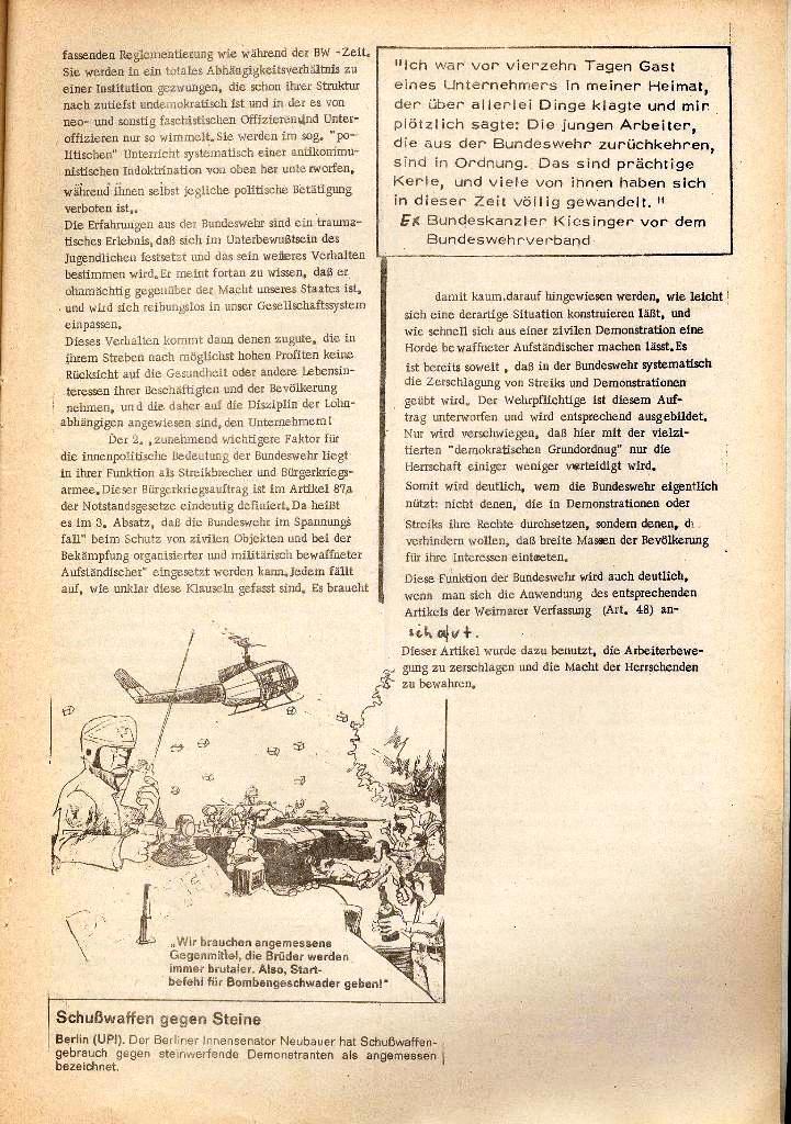 Rote Schule _ Organ des SSG, Nr. 1, 12.12.1971, Seite 5