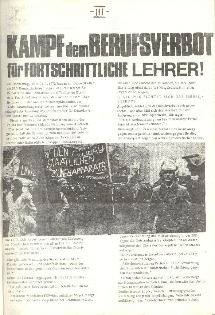 Schulkampf _ Organ der KSF, Göttingen, Nr. 1 [1972], Seite 3