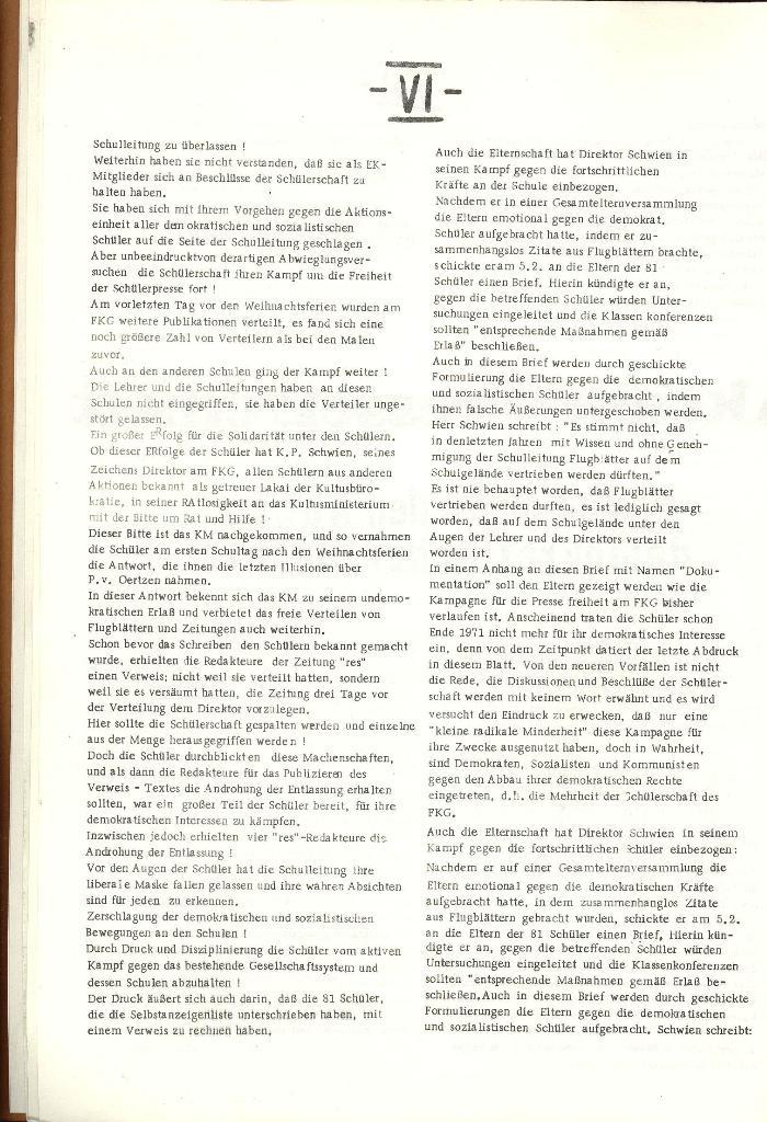 Schulkampf _ Organ der KSF, Göttingen, Nr. 1 [1972], Seite 6
