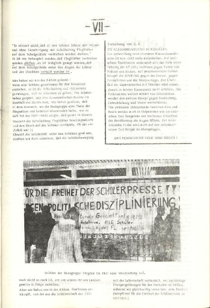 Schulkampf _ Organ der KSF, Göttingen, Nr. 1 [1972], Seite 7