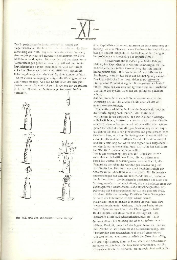 Schulkampf _ Organ der KSF, Göttingen, Nr. 1 [1972], Seite 11