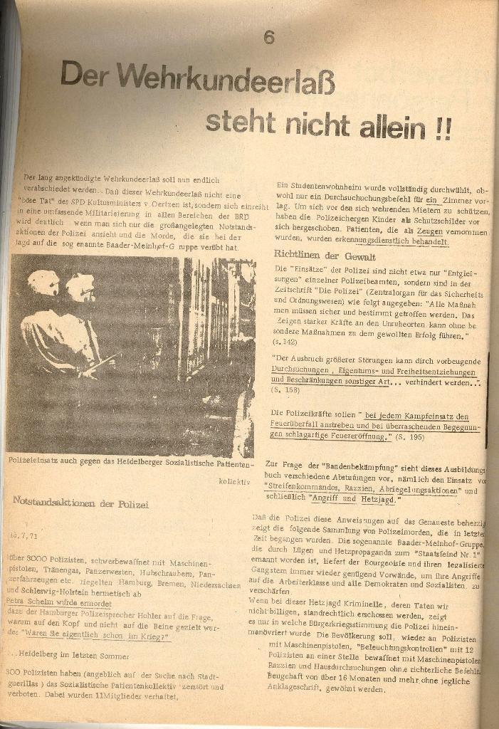 Schulkampf _ Organ der KSF, Göttingen, Nr. 2 [1972], Seite 6