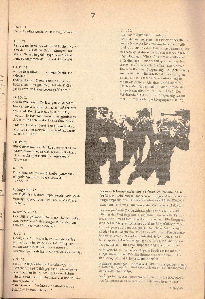 Schulkampf _ Organ der KSF, Göttingen, Nr. 2 [1972], Seite 7