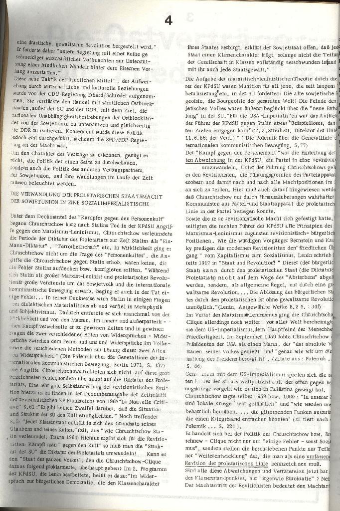 Schulkampf _ Organ der KSF, Göttingen, Nr. 3 [1972], Seite 4