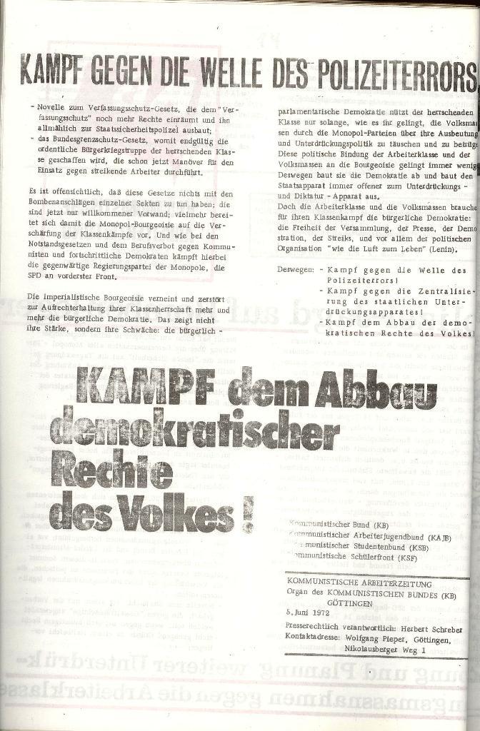 KAZ_Flugblatt: Polizei_Jagd auf Bombenleger, Seite 2